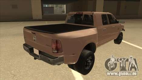 Dodge Ram [Johan] für GTA San Andreas rechten Ansicht