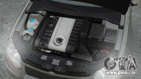 Volkswagen Golf GTi DT-Designs pour GTA 4 est une vue de l'intérieur
