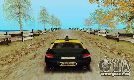 Mercenaries 2-Taxi für GTA San Andreas rechten Ansicht