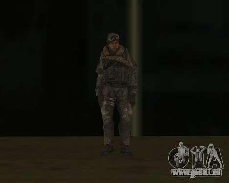 SOAP MacTavish für GTA San Andreas dritten Screenshot