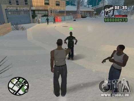 Umschalten zwischen Zeichen wie in GTA V für GTA San Andreas fünften Screenshot