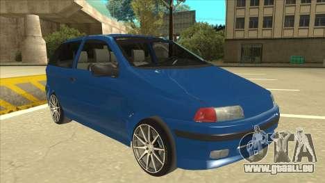 Fiat Punto MK1 Tuning pour GTA San Andreas laissé vue