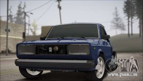 IZH 27175 pour GTA San Andreas sur la vue arrière gauche