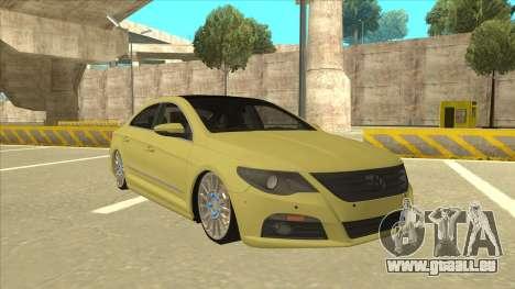 VW Passat CC für GTA San Andreas linke Ansicht