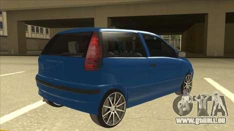 Fiat Punto MK1 Tuning pour GTA San Andreas vue de droite