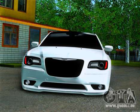 Chrysler 300 c SRT-8 MANSORY_CLUB pour GTA San Andreas vue intérieure