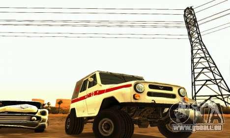 UAZ 469 Krankenwagen für GTA San Andreas