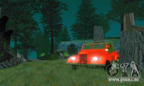 GAZ 69 Pickup pour GTA San Andreas vue de droite