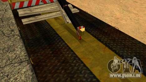 Dépanneuse 43114 KAMAZ pour GTA San Andreas vue de dessous