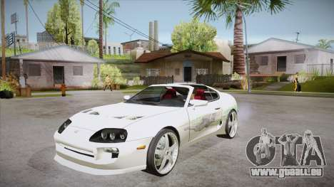 Toyota Supra TwinTurbo FNF 1997 pour GTA San Andreas