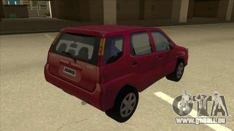 Suzuki Ignis für GTA San Andreas rechten Ansicht
