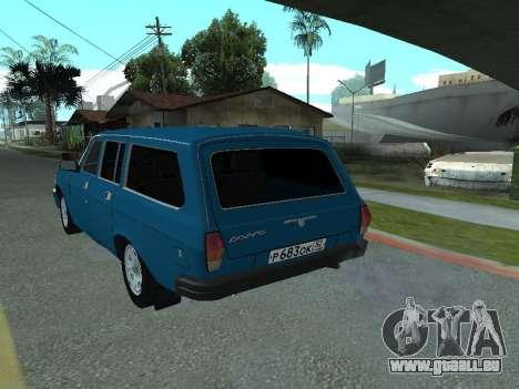 GAS 31022 für GTA San Andreas rechten Ansicht