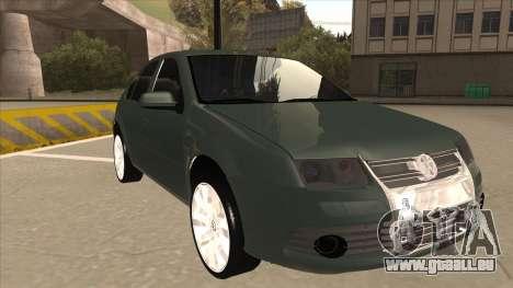 Jetta 2003 Version Normal pour GTA San Andreas laissé vue