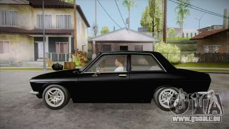 Datsun 510 RB26DETT Black Revel für GTA San Andreas linke Ansicht