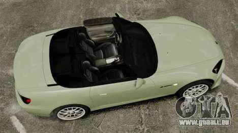 Honda S2000 für GTA 4 rechte Ansicht