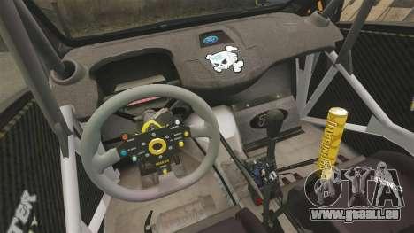 Ford Fiesta Gymkhana 6 Ken Block [Hoonigan] 2013 für GTA 4 Seitenansicht