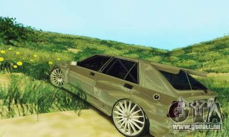 Lancia Delta HF Integrale pour GTA San Andreas sur la vue arrière gauche
