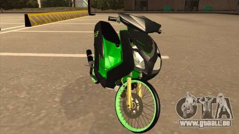 Yamaha Mio Soul 2 Monster Energy für GTA San Andreas