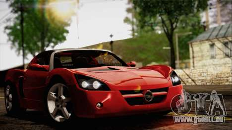 Opel Speedster Turbo 2004 für GTA San Andreas linke Ansicht