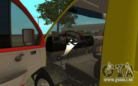 3302 Gazelle dépanneuse Business pour GTA San Andreas vue arrière