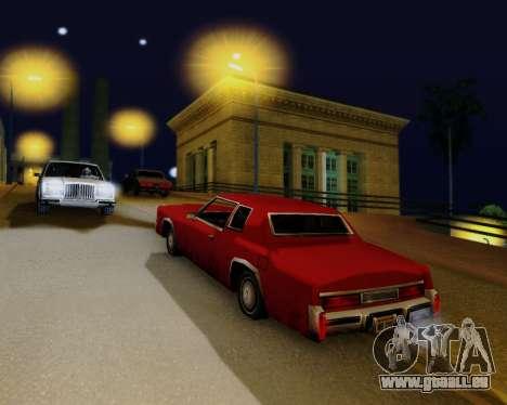 ENBSeries pour PC puissant pour GTA San Andreas quatrième écran