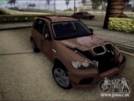 BMW X5M für GTA San Andreas Seitenansicht
