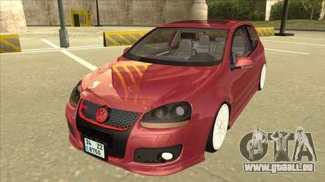 Volkswagen Golf V pour GTA San Andreas