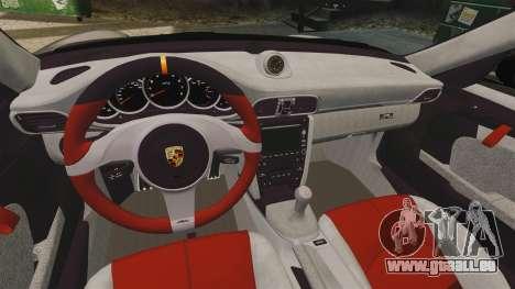 Porsche 997 GT2 2012 Simple version pour GTA 4 est une vue de l'intérieur