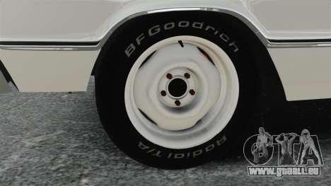 Dodge Coronet 440 1967 pour GTA 4 Vue arrière