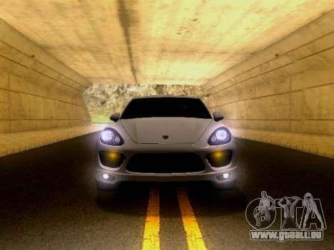 Porsche Cayenne Turbo S 2013 V1.0 pour GTA San Andreas vue arrière