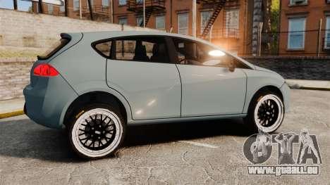 Seat Leon Gtaciyiz pour GTA 4 est une gauche