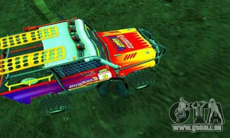UAZ Hunter Trial pour GTA San Andreas salon