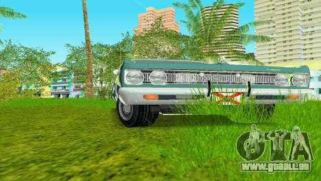 Plymouth Fury III 1969 Coupe für GTA Vice City linke Ansicht