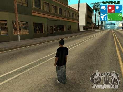 Trafiquant de drogue nouvelle Afro pour GTA San Andreas deuxième écran