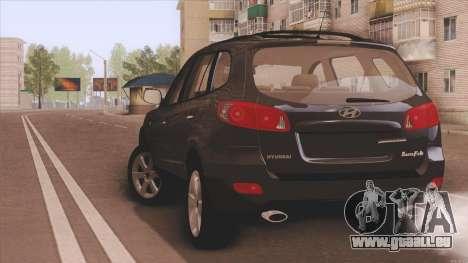 Hyundai Santa Fe pour GTA San Andreas vue de droite