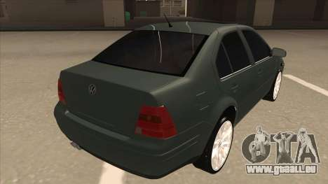 Jetta 2003 Version Normal pour GTA San Andreas vue de droite