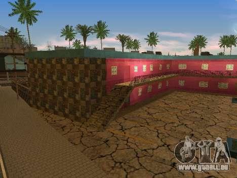 Nouvelles textures à Jefferson pour GTA San Andreas deuxième écran