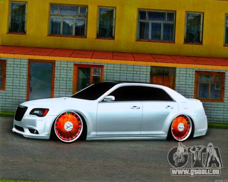 Chrysler 300 c SRT-8 MANSORY_CLUB pour GTA San Andreas laissé vue