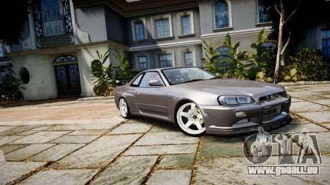 Nissan Skyline GTR-34 v1.0 für GTA 4