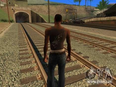 Nouveau Mike CJ pour GTA San Andreas deuxième écran