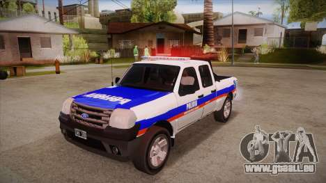 Ford Ranger 2011 Province of Buenos Aires Police für GTA San Andreas