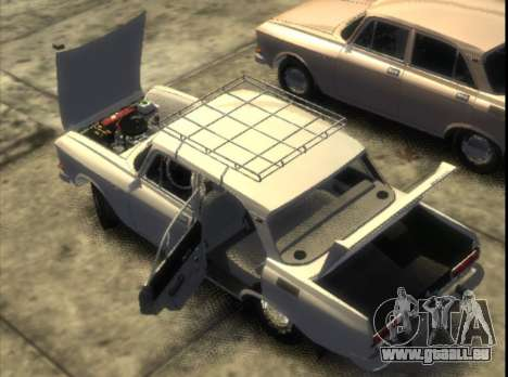 AZLK 2140 1976 pour GTA 4 Vue arrière de la gauche