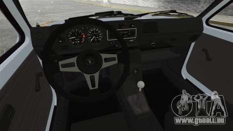 Volkswagen Golf MK1 GTI Rat Style pour GTA 4 Vue arrière