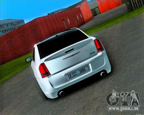 Chrysler 300 c SRT-8 MANSORY_CLUB pour GTA San Andreas vue de droite