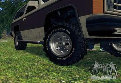 Rancher Bronco für GTA San Andreas Innen