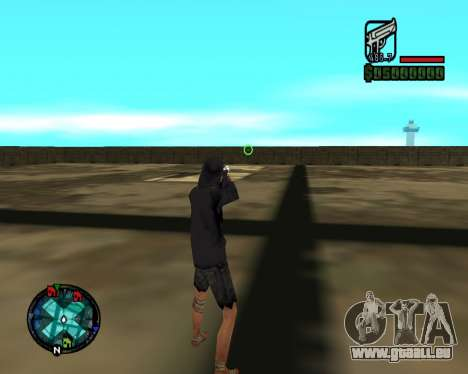 Cleo Gun for SA:MP (dgun) für GTA San Andreas dritten Screenshot