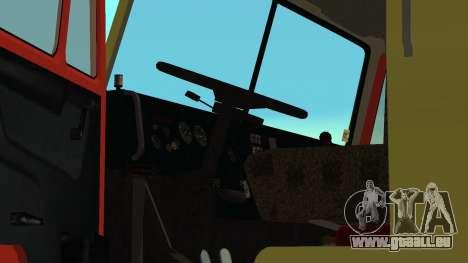 Dépanneuse 43114 KAMAZ pour GTA San Andreas vue de côté