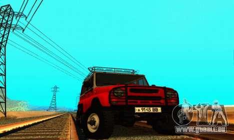 UAZ 31514 6 x 6 pour GTA San Andreas