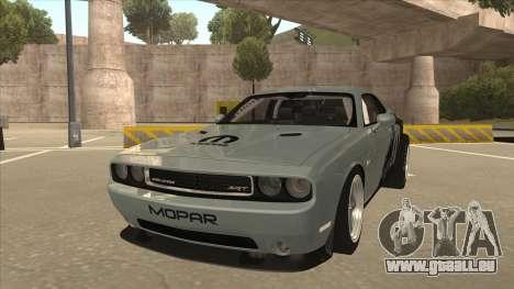 Dodge Challenger Drag Pak pour GTA San Andreas