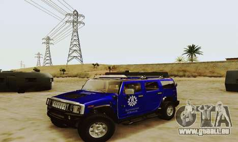 THW Hummer H2 pour GTA San Andreas